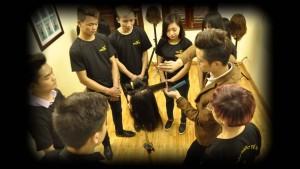 4 lever dạy làm tóc tại Học viện tóc quốc tế OneStar