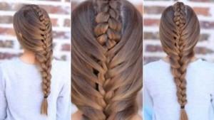 Hướng dẫn cách tết tóc kiểu xương cá đang HOT với giới trẻ