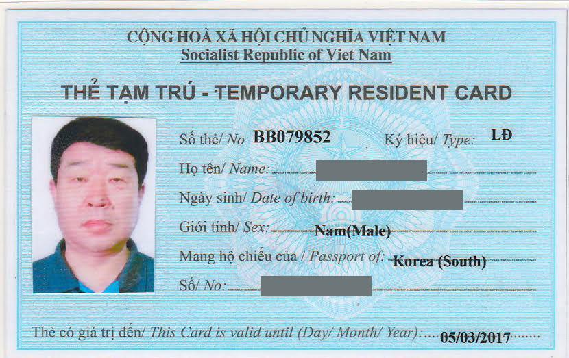 Quy định xử phát liên quan đến Thẻ Tạm Trú, Visa, Hộ chiếu, Thị thực