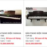 Địa chỉ bán đàn Piano điện cũ của Nhật Bản tại HN