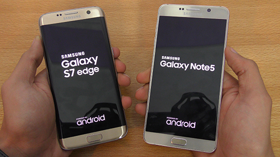 So sánh 2 siêu phẩm Samsung Galaxy Note 5 và S7 1