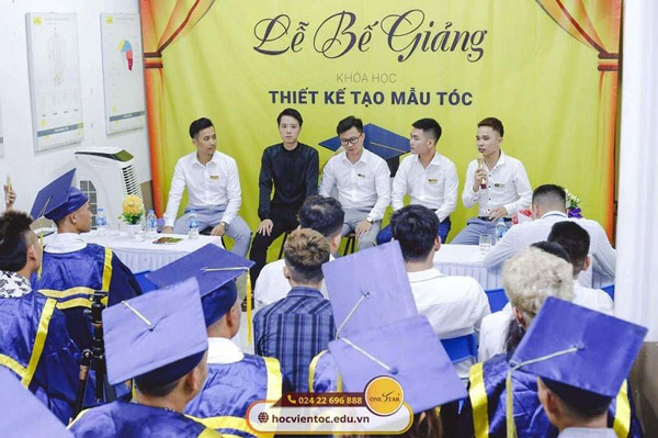 Ra trường học viên được OneStar giới thiệu việc làm tại các Salon uy tín trên cả nước